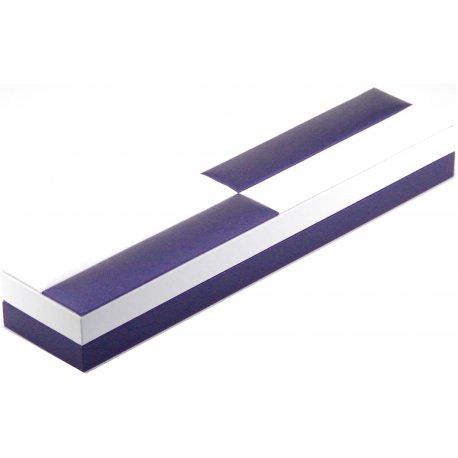 Футляр для ювелірних виробів Арт CJ 2006 white/blue