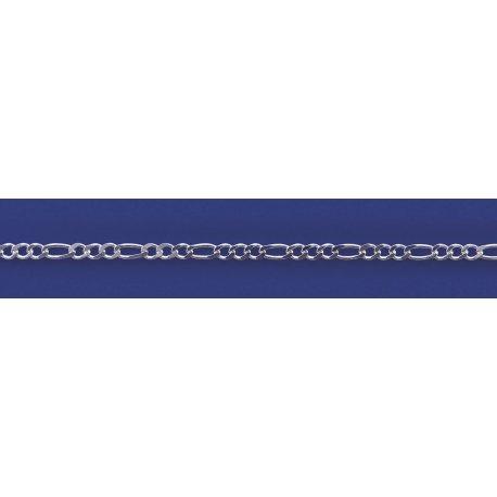 Арт 26 080 Ланцюжок срібний 925* Панцир - фігаро