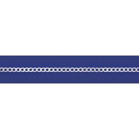 Арт 01 080 Цепочка серебряная 925* Гурмет (Панцирь)