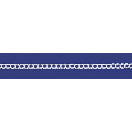Арт 28 050 Цепочка серебряная 925* Панцирь - параллель