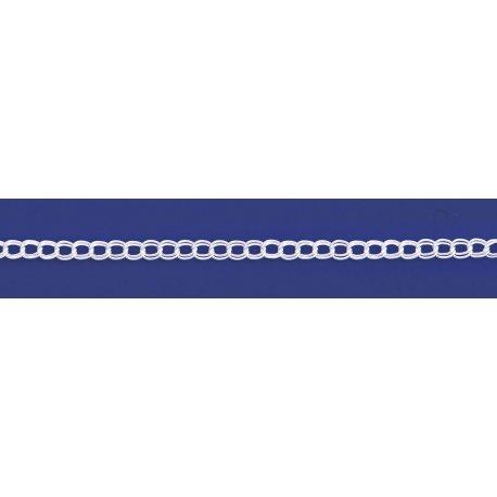 Арт 28 050 Ланцюжок срібний 925* Панцир - паралель
